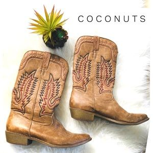 Coconuts Rancho Pull On Boots